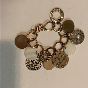 Guess Gold & Silver Coloured Bracelet